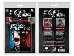 HOSTAGE EL NEGOCIADOR PACK EXPANSIONES 3 Y 4