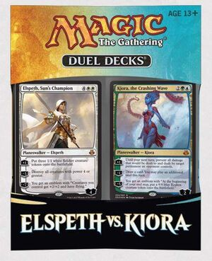 MAGIC- DUEL DECK ELSPETH VS KIORA
