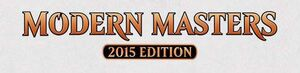 MAGIC- MODERN MASTERS 2015