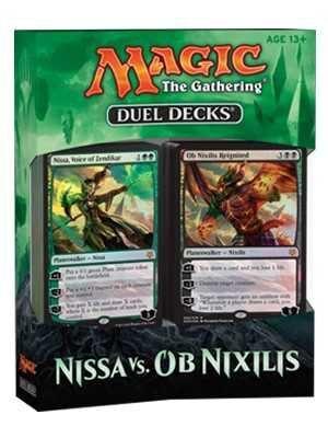 MAGIC- DUEL DECK NISSA VS OB NIXILIS