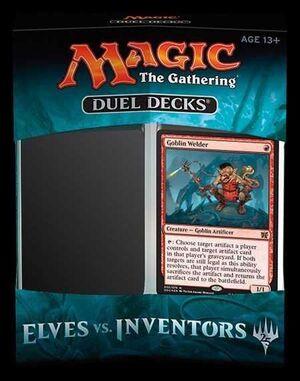 MAGIC- DUEL DECK ELVES VS INVENTORS (EN INGLES)