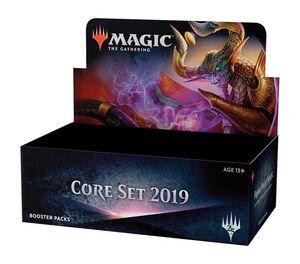 MAGIC - CORE SET 2019 SOBRE INGLES