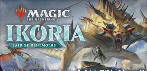 MAGIC - IKORIA MUNDO DE BEHEMOTHS BUNDLE PACK (INGLES)