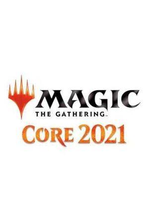 MAGIC - COLECCION BASICA 2021 SOBRE COLECCIONISTA INGLES