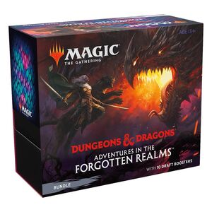 MAGIC - D&D AVENTURAS EN FORGOTTEN REALMS BUNDLE (INGLÉS)
