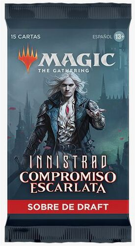 MAGIC - INNISTRAD COMPROMISO ESCARLATA SOBRE DE DRAFT (CASTELLANO)