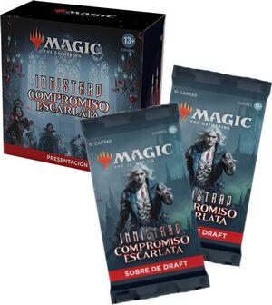 MAGIC - INNISTRAD COMPROMISO ESCARLATA PACK PRESENTACIÓN + 2 SOBRES DE REGALO