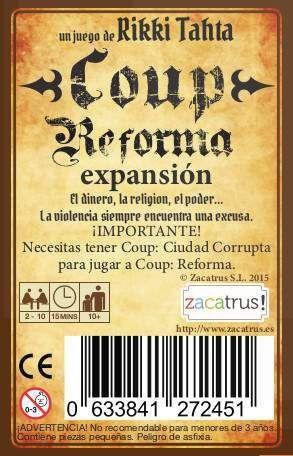 REFORMA (EXPANSION COUP: CIUDAD CORRUPTA)