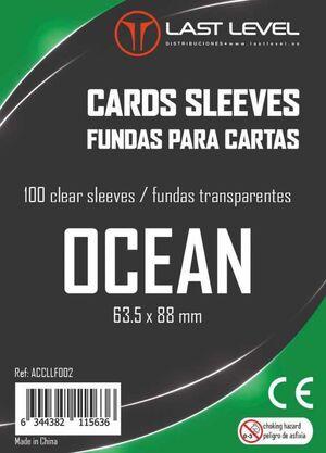 FUNDAS LAST LEVEL OCEAN STANDARD 63.5MM X 88MM (100)