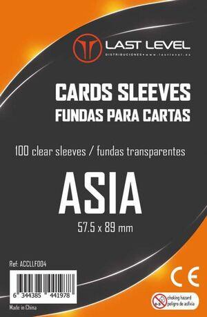 FUNDAS LAST LEVEL ASIA 57,5MM X 89MM (100)