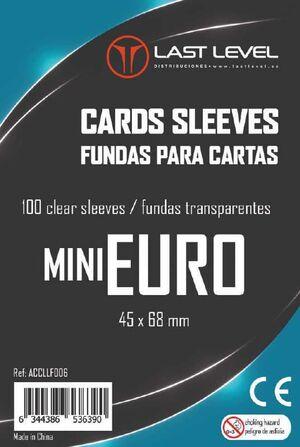 FUNDAS LAST LEVEL MINI EURO (45 X 68 MM) (100)