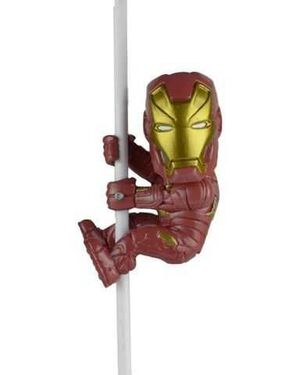 CAPITAN AMERICA CIVIL WAR SCALER MINI FIGURA 5CM IRON MAN