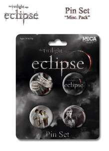 ECLIPSE SET DE 4 PINS VARIOS