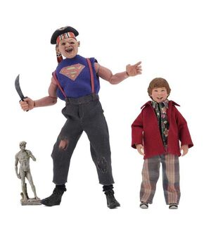 GOONIES PACK 2 FIGURAS SLOTH & CHUNK 13-20 CM CLOTHED ACTION FIGURE