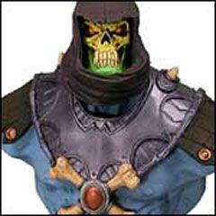 MASTERS OF THE UNIVERSE MICROBUST SKELETOR