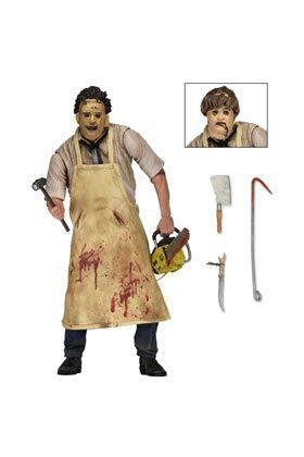 LA MATANZA DE TEXAS FIGURA 18 CM ULTIMATE LEATHERFACE CHAINSAW MASACRE