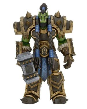 HEROES OF THE STORM FIGURA 18 CM THRALL
