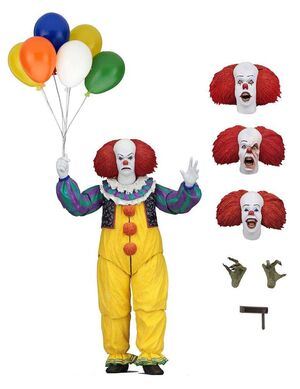 STEPHEN KING IT 1990 FIGURA 18 CM ULTIMATE PENNYWISE