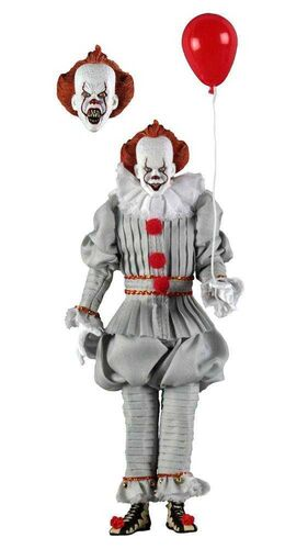 IT FIGURA 20 CM PENNYWISE CLOTHED ACTION FIGURE IT 2017