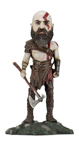 GOD OF WAR CABEZON 22 CM KRATOS (2018) HEAD NOCKER