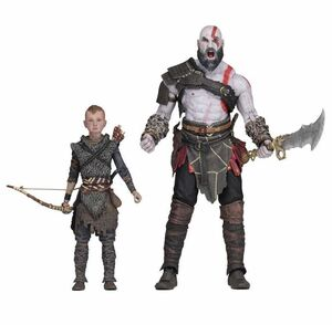 GOD OF WAR SET 2 FIGURAS 18 CM ULTIMATE KRATOS & ATREUS