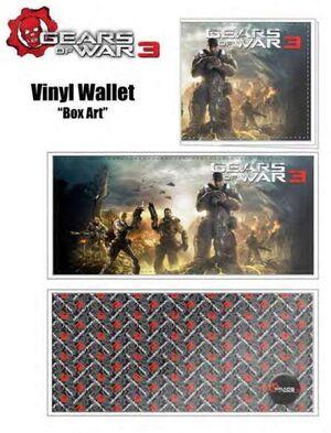 GEARS OF WAR 3 MONEDERO BOX ART