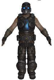 GEARS OF WAR 3 FIG 18CM SERIE 3 - COG SOLDIER