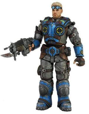 GEARS OF WAR JUDGEMENT FIG 18CM BAIRD