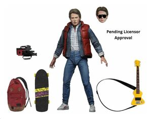 REGRESO AL FUTURO FIGURA 18 CM ULTIMATE MARTY MCFLY SCALE ACTION