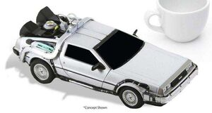 REGRESO AL FUTURO REPLICA 15 CM DIECAST TIME MACHINE