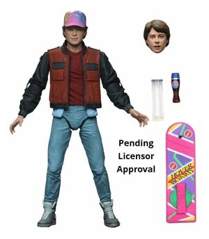 REGRESO AL FUTURO 2 FIGURA 18 CM MARTY MCFLY ULTIMATE