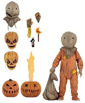 TRICK R TREAT FIGURA ULTIMATE SAM 13 CM