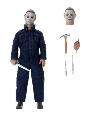 HALLOWEEN 2 FIGURA 18 CM MICHAEL MYERS CLOTHED ACTION FIGURE