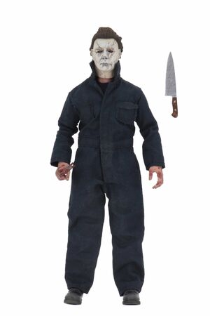 MICHAEL MYERS FIGURA 20 CM HALLOWEEN (2018) CLOTHED ACTION FIGURE