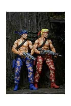 CONTRA VIDEOGAME PACK 2 FIGURAS 18 CM BILL Y LANCE
