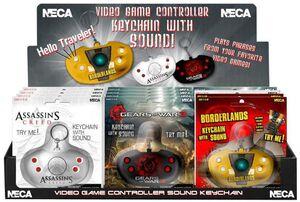 VIDEO GAME CONTROLLER LLAVERO CON SONIDO (3 MODELOS)