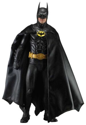 BATMAN 1989 MICHAEL KEATON ESCALA 1/4 FIGURA 45 CM (2)