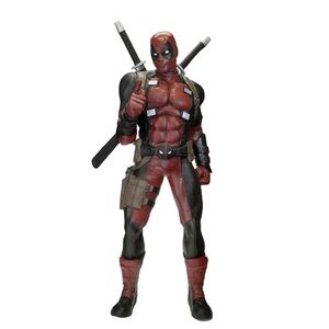 DEADPOOL ESTATUA TAMAÑO NATURAL 185 CM MARVEL CLASSIC (GOMA ESPUMA / LATEX