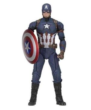 CAPITAN AMERICA CIVIL WAR FIGURA 45 CM 1/4 SCALE CAPITAN AMERICA