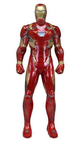 IRON MAN ESTATUA TAMAÑO NATURAL 198 CM (GOMA ESPUMA / LATEX)