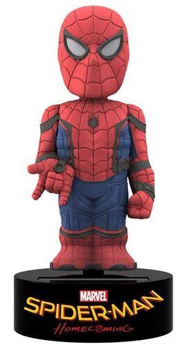 SPIDER-MAN HOMECOMING FIGURA 16,5 CM SPIDER-MAN BODY KNOCKER BASE GIRATORIA