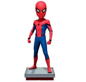 SPIDER-MAN HOMECOMING FIGURA 20 CM RESINA SPIDER-MAN HEAD KNOCKER