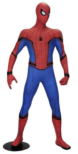 SPIDERMAN HOMECOMING ESTATUA TAMAÑO NATURAL 158 CM LATEX