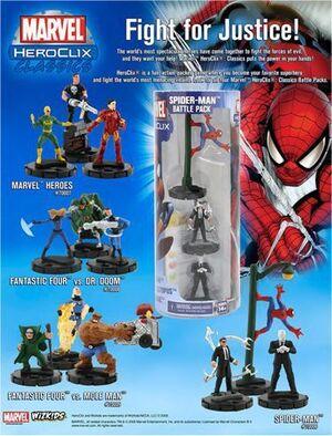 MARVEL HEROCLIX - MARVEL HEROES BATTLE PACK