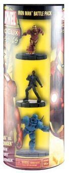 MARVEL HEROCLIX - IRON MAN VS IRON MONGER BATTLE PACK