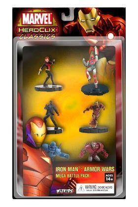 MARVEL HEROCLIX - IRON MAN ARMOR WARS MEGA PACK