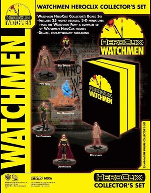 WATCHMEN HEROCLIX: COLLECTOR S BOXED SET (25 FIGURAS)