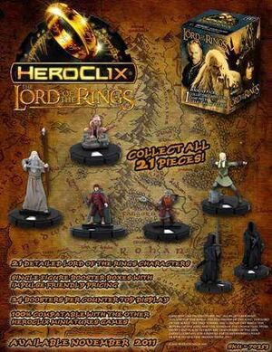 LORD OF THE RING HEROCLIX CAJA FIG ALEATORIA