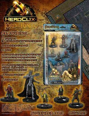 LORD OF THE RING HEROCLIX STARTER 8 PACK