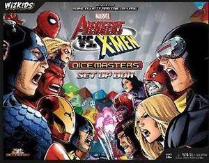DICE MASTERS AVENGERS VS X-MEN SET-UP BOX (INGLES)